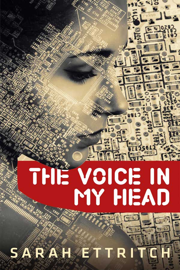 The cover for The Voice in My Head, a lesbian romance.