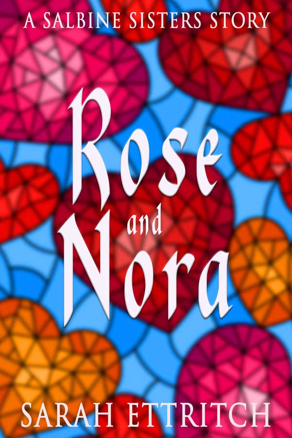 Rose and Nora Cover - lesbian romance book