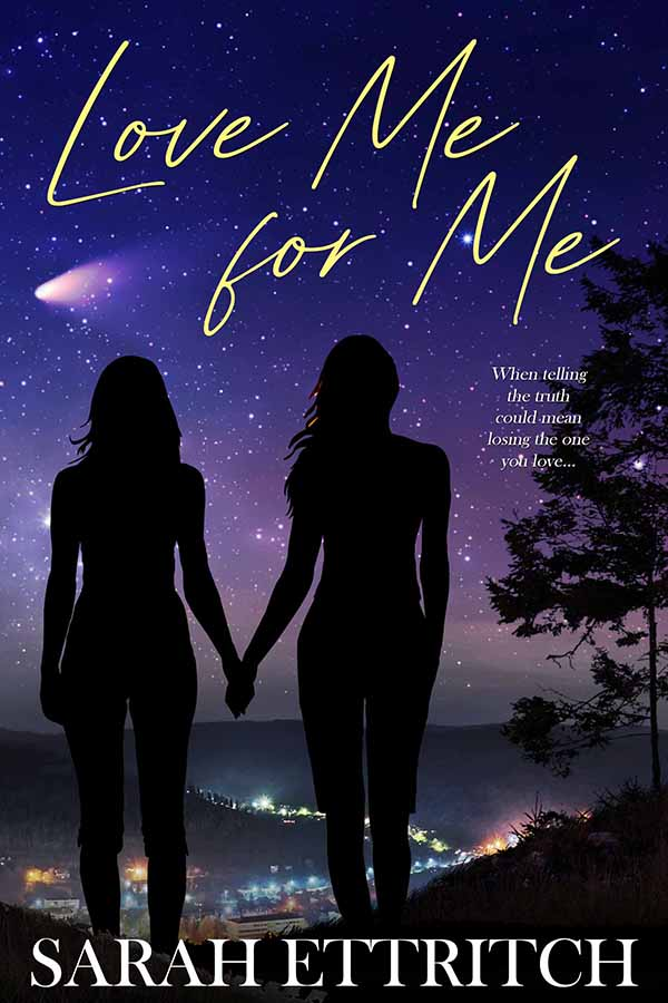The cover for Love Me for Me, a lesbian romance novel